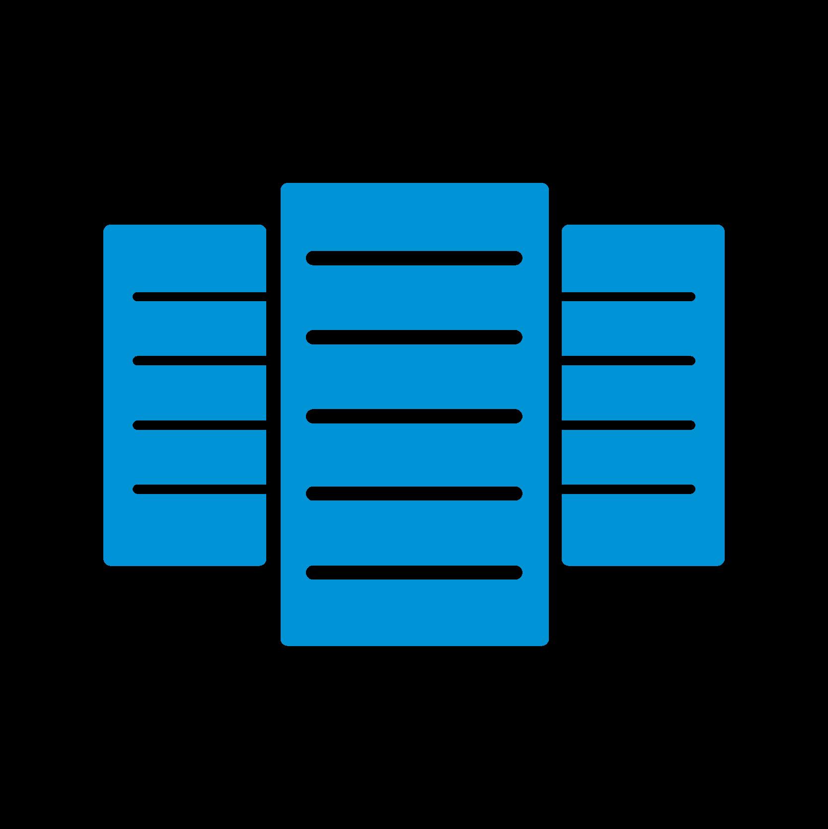 Vertical server stacks
