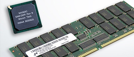 1999: Micron Produces Industry's First Double-Data-Rate (DDR) DRAM