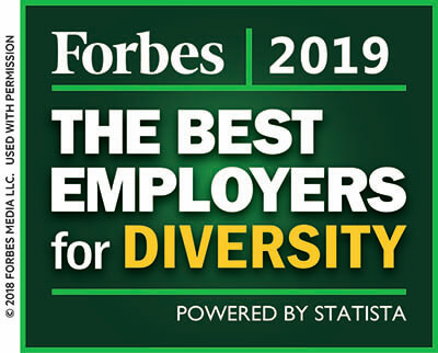 Forbes Best Employers for Diversity Award