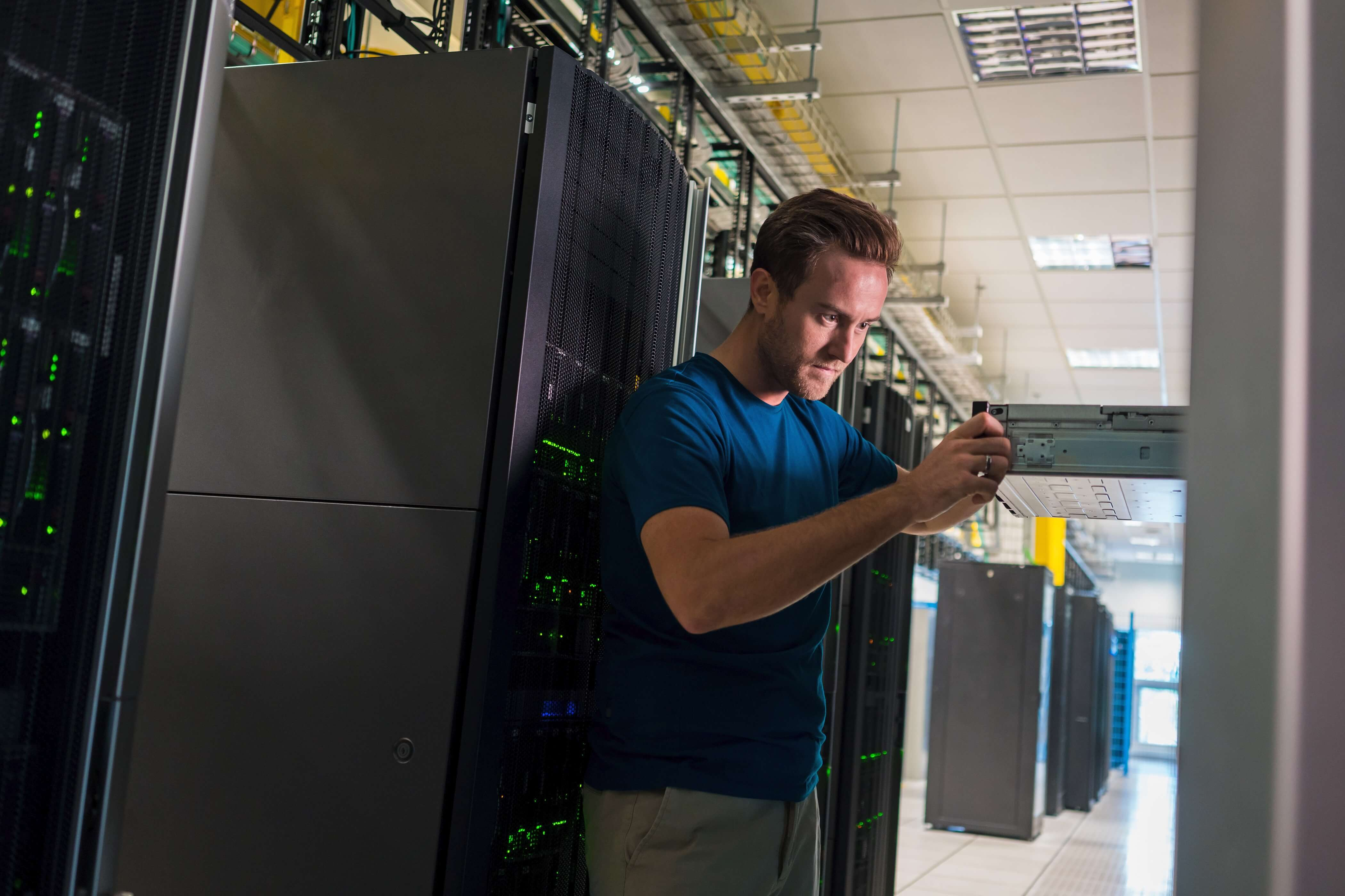 cloud data center worker