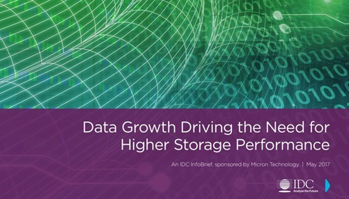 Data Growth Driving the Need for Higher Storage Performance