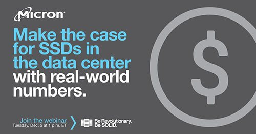 Make the case for SSDs in the data center with real-world numbers