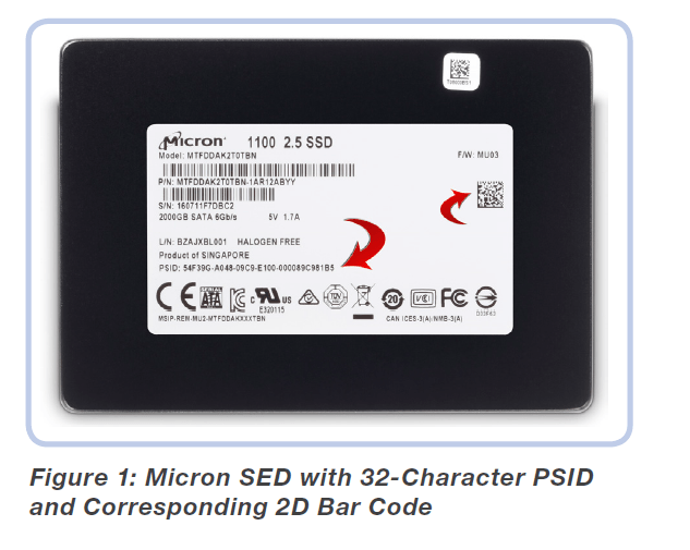 "/& WORKING* TESTED Micron 256GB SATA 2.5/"" LAPTOP SSD Model MTFDDAK256TBN *WIPED"