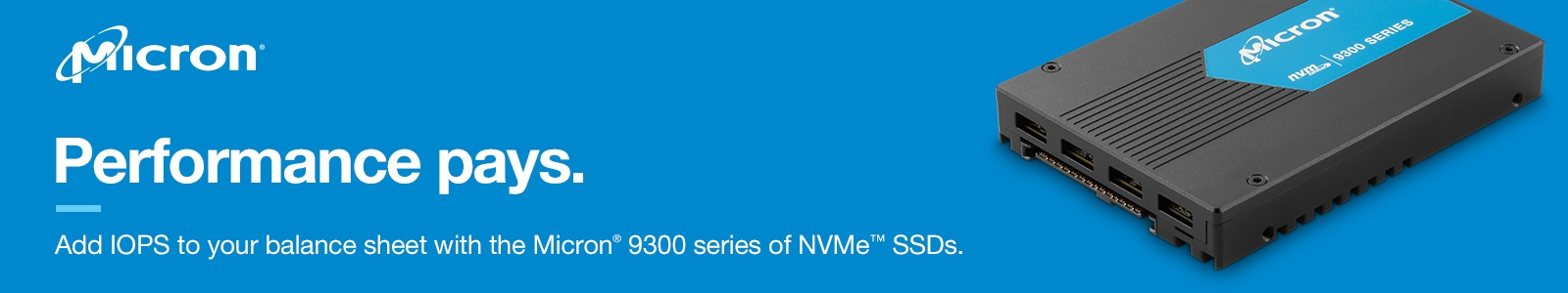 Using Namespaces on the Micron 9300 NVMe SSD to Improve Application