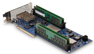SB-852 at full-height with GPU-length a PCIe x16 Gen3 board Xilinx Virtex Ultrascale+ FPGA 2GB HMC and two QSFP28 connectors