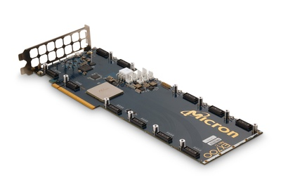 Full-height and length EX-700 backplane. A server or workstation accelerator card. Combine in a cluster for mass performance.
