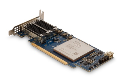 SB-851 is a half-height, half-length, PCIe x16 Gen3 board with a Xilinx�Virtex Ultrascale+ FPGA and two QSFP28 connectors.