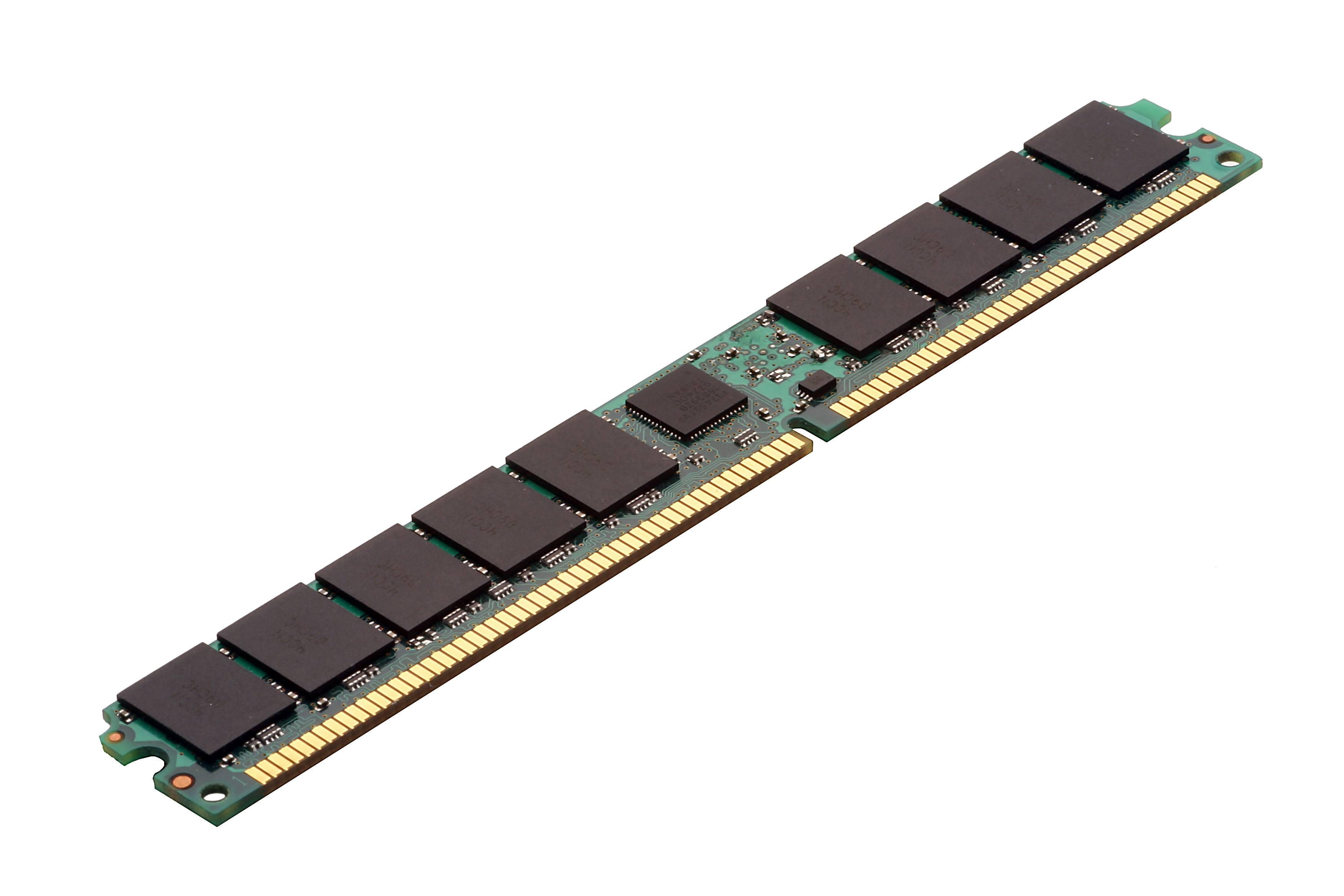 分類為四等級 VLP RDIMM 的 DRAM 模組