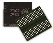 美光 GDDR6 SGRAM 前後視角搭配 180-ball 配置