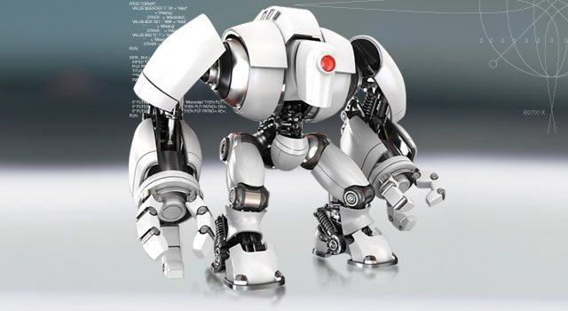 Robot inspiration for Micron Student engineer programs