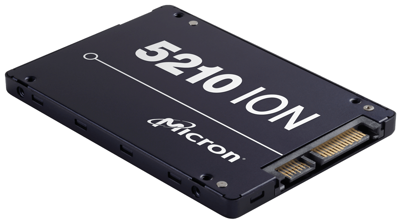 Micron 5210 ION Enterprise SATA QLC SSD